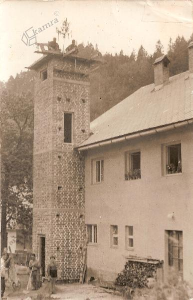 Gradnja stolpa za sušenje cevi