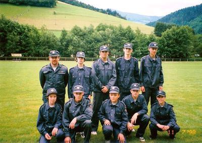 Gasilci na tekmovanju v Ste Marie aux Mines, Francija