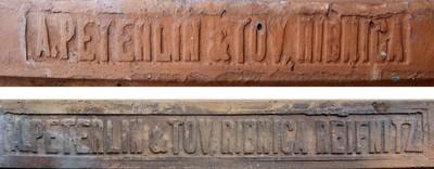 7. Dva različna napisa na strešnikih