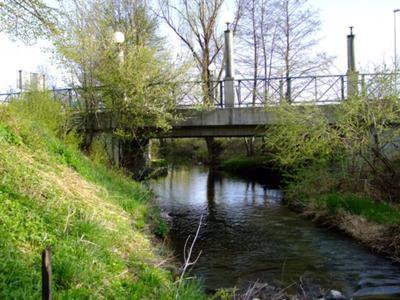 Most čez Grosupeljščico
