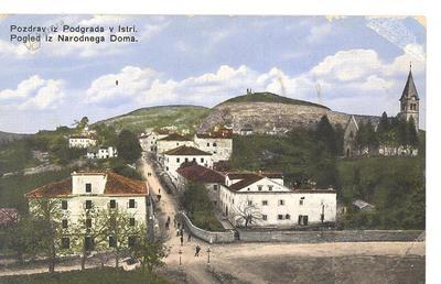 Podgrad, okrog 1910 leta
