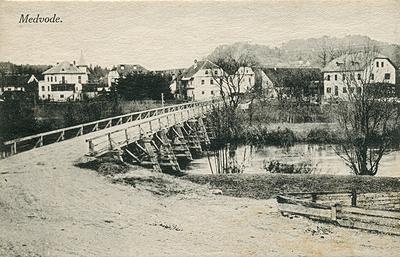 Most čez Soro v Medvodah