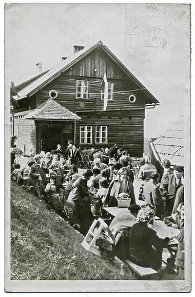 Dom na Govejku 1963