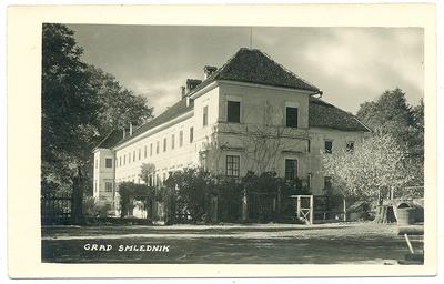 Lazarinijev dvorec 1930