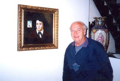 Andrej Pavlič, portret Franceta Prešerna