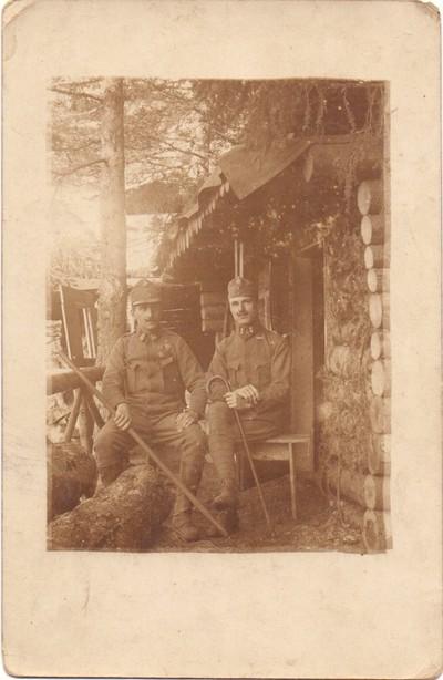 Anton Lorenčak in Pepi Arzenšek