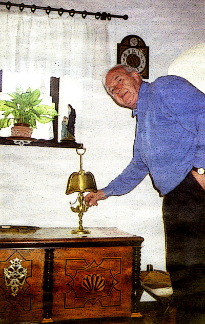 Franci Zabukovec z Jeričino oljenko