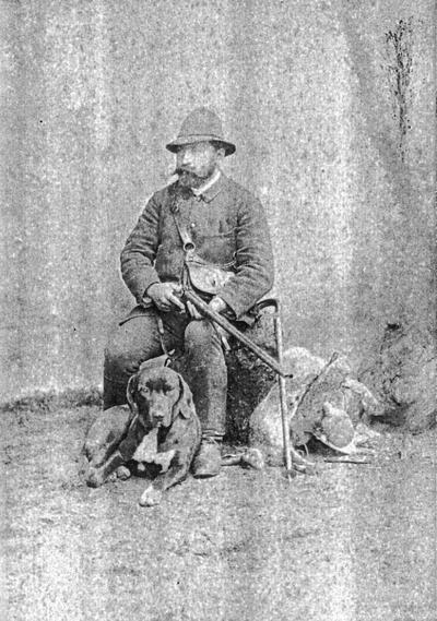 Franc Arko kot lovec