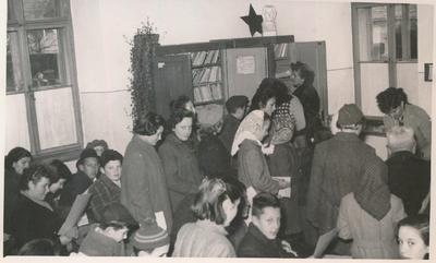 Brežiška knjižnica v prostorih brežiške osnovne šole