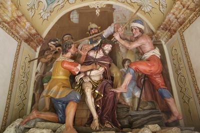 10. kapela: Jezusa venčajo s trnjem