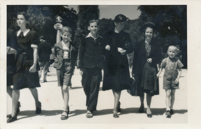 Savica z družino v Ljubljani