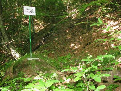 Lokacija bolnišničnega bunkerja