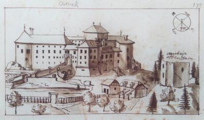 Skica ortnešega gradu