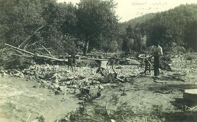 Poplava v Hrastnici 8. 8. 1924
