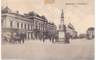 Szolnock - Kossuth-ter