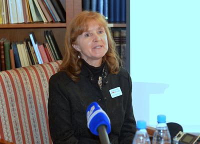 Tiskovna konferenca NUK - dr. Irena Orel