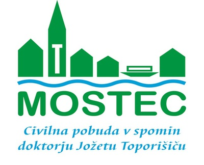 Znak Civilne pobude v spomin doktorju Jožetu Toporišiču Mostec