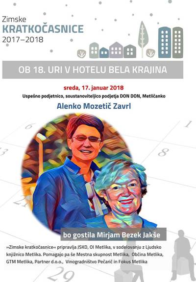 Alenka Mozetič Zavrl - Mirjam Bezek Jakše