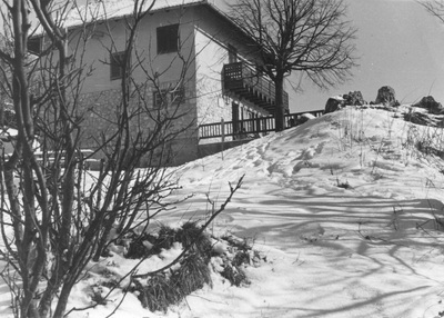 Tončkov dom v snegu