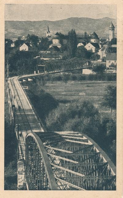 Most čez Savo in Krko pri Brežicah
