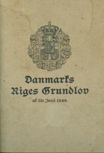 Danmarks Riges Grundlov, særudgave fra fagskolen