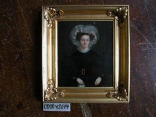 Maleri: Anne Mortensdatter malet 1832 af MB