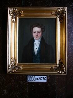 Maleri: Christen Hornbeck, ca. 1840