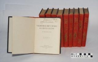 Bog, 10 stk., Ingemann, skønlitteratur.