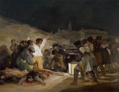 El 3 de mayo en Madrid, o ''Los fusilamientos''