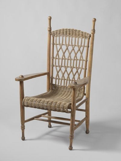 Armchair used by President Paul Kruger