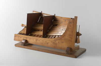 Model of the Screw Aperture of a Twin Screw Steamer