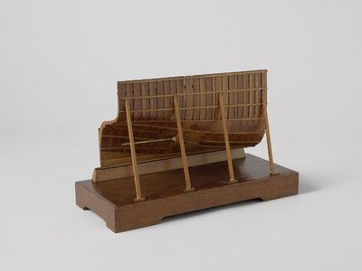 Model of the Construction of the Screw Aperture for a Twin Screw Steamer