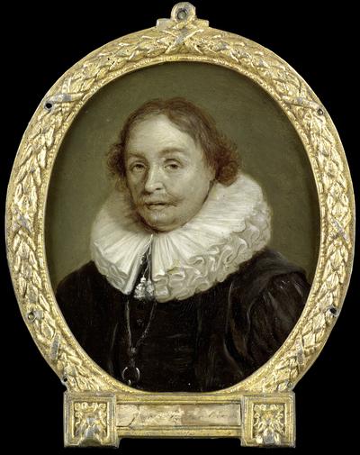 Portrait of Pierius Winsemius, Professor of Rhetoric and History in Franeker