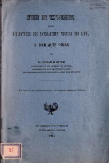 Studien zur Textgeschichte der Bibliotheke des Patriarchen Photios von K