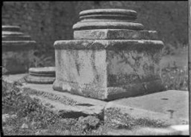 Athens. Column base