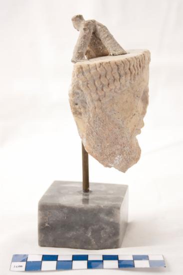 Κεφαλή ανδρικής μορφής από τη ζωφόρο του Θησαυρού των Σιφνίων
