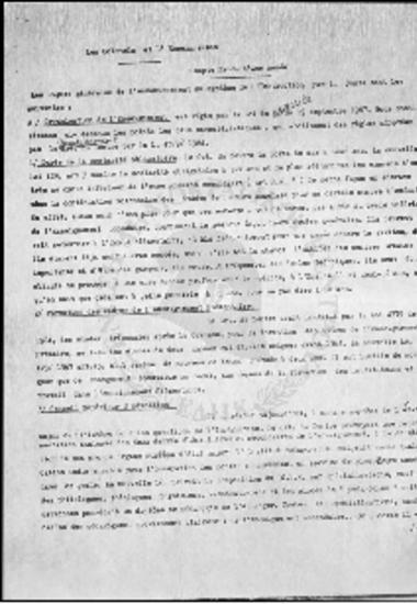 Δικτατορία-Les Colonels et L' Enseignement-Compte Rendu d' une Annee