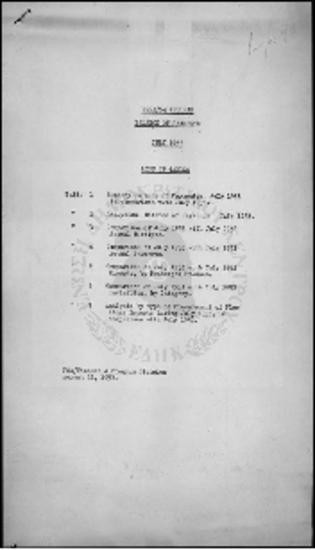PROGRAM BALANCE OF PAYMENTS - JULY 1953