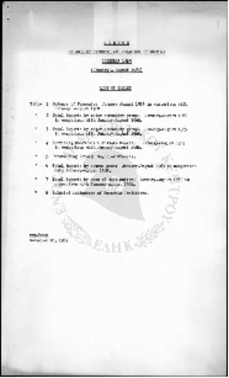 Ballance of Payments and Selected Indicators Calendar 1969-Greece (January-August 1969)