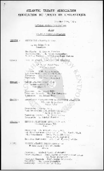National Member Organizations of the Atlantic treaty Association