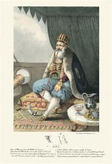 ALI. Vizier of Albanien, also called Pacha of Janina.