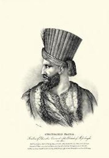 CHOURCHID PACHA. Seraskire of Rhumelie. Commander of the Blockade of Missolonghi.