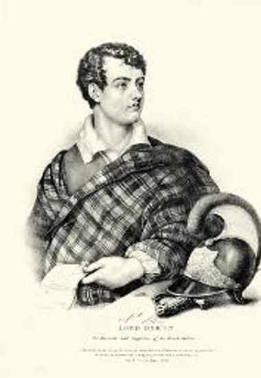 LORD BYRON. The Advocate and supporter of the Greek Nation.