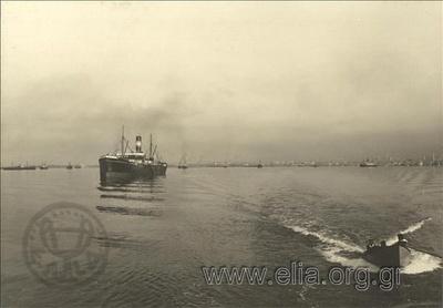15 Νοεμβρίου. Παραπομπή του βουλγαρικού στρατού από τη Θεσσαλονίκη στην Αλεξανδρούπολη. Το επίτακτο ατμόπλοιο