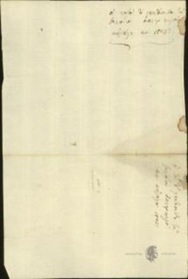 Nikolaos Kriezotis, G. Roukis, Georgios Dyovouniotis et al. Chieftains of the Camp of Salona to Ioannis Kolettis