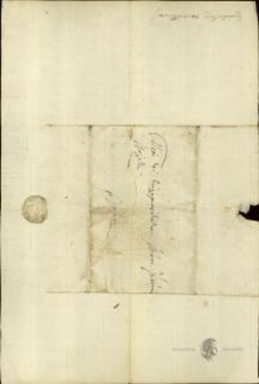 Σακελλάριος Ζαγόριος προς Ιωάννη Κωλέττη