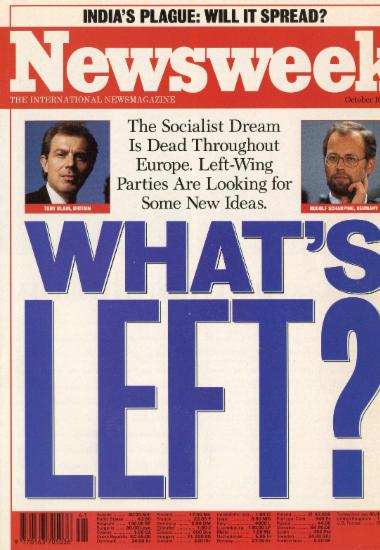 The Socialist Dream Is Dead Throughout Europe. Left- Wing Parties Are Looking for Some News Ideas: What's Left?