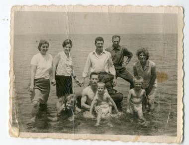 Στη θάλασσα της Μεθώνης