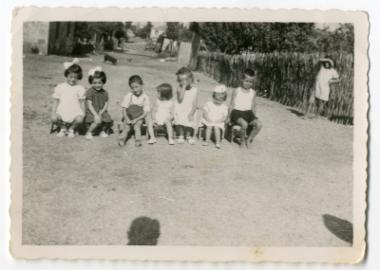 Παιδικό πάρτυ στην αυλή