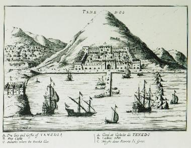 Άποψη της Τενέδου.